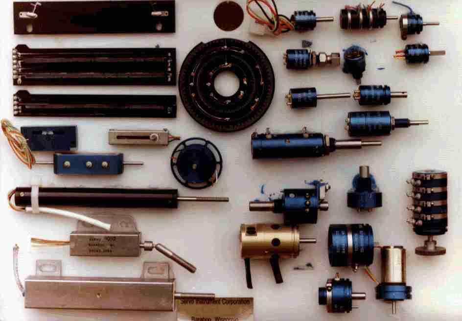 Linear Motion - Translatory Precision Potentiometer